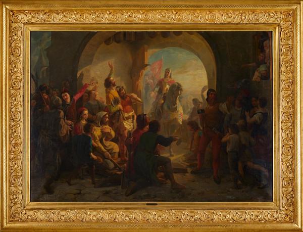 Petr Maixner – Vjezd Jana Lucemburského na Pražský hrad
