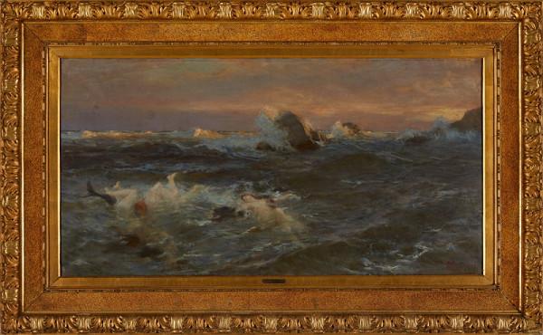 Beneš Knüpfer – Moře s nymfami