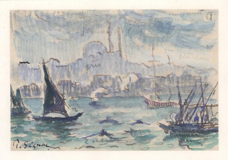 Paul Signac – Motiv z Bosporu, 1907
