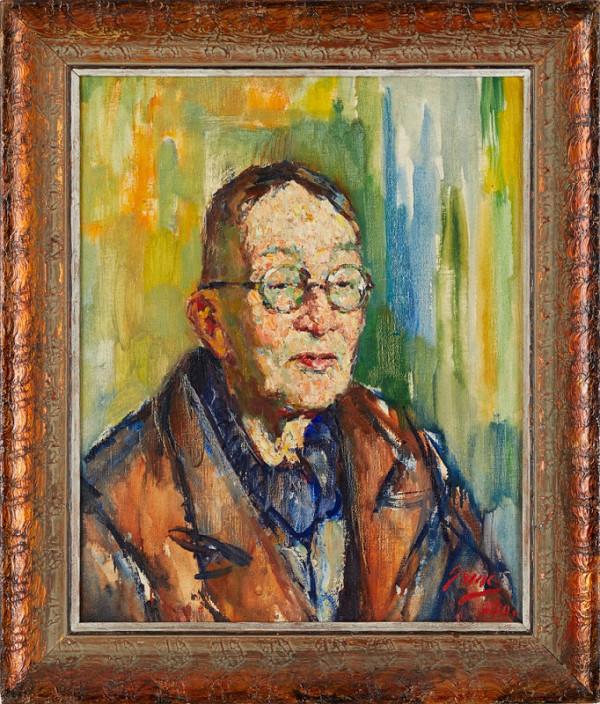 Samo Koler – Portrét Jiřího Karáska ze Lvovic
