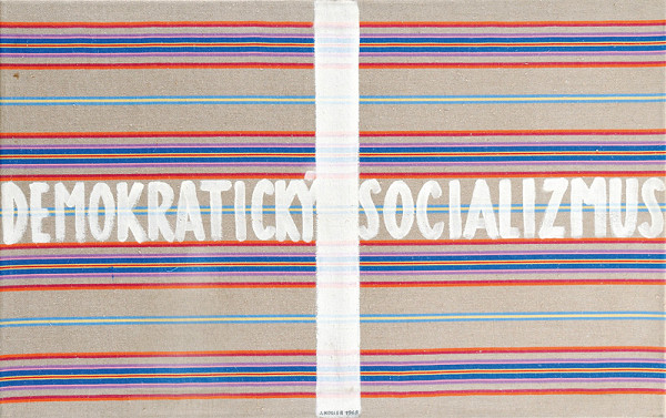 Július Koller – Demokratický socializmus. Anti-obraz
