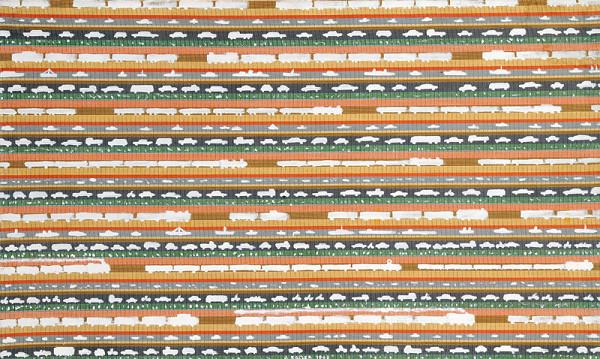 Július Koller – Doprava (Anti-obraz, Latextil)