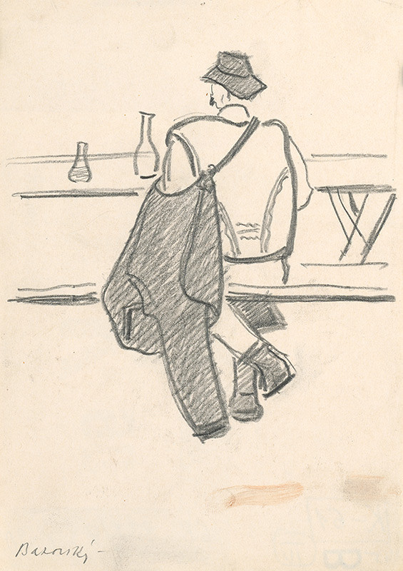 Miloš Alexander Bazovský - V hostinci za stolom
