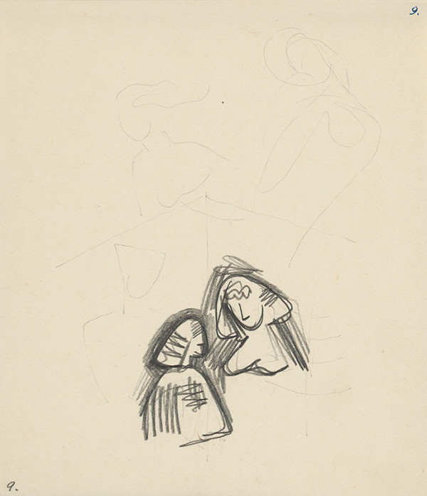 Mikuláš Galanda - Dve ženy