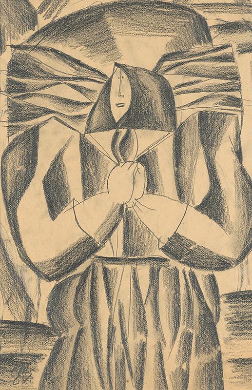 Rudolf Moško – Žena s nošou
