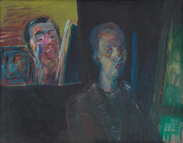 Ján Berger - Štúdia autoportrétu