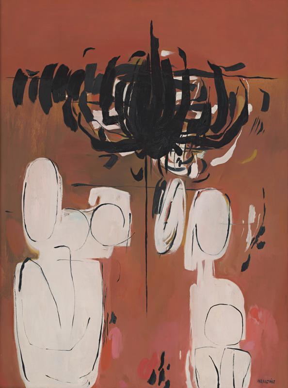 Viera Kraicová – Turíce, 1967, Galéria Miloša Alexandra Bazovského