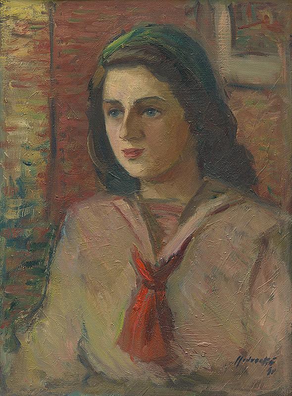 Mária Medvecká - Portrét dievčaťa