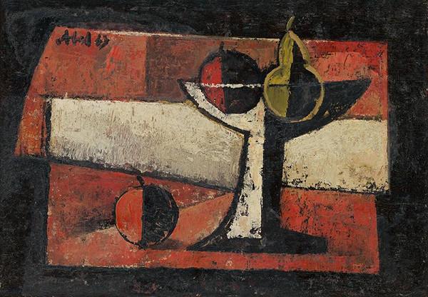 Svetozár Abel - Zátišie s ovocím