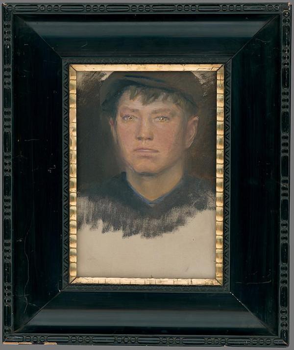 Ladislav Mednyánszky - Portrét chlapca