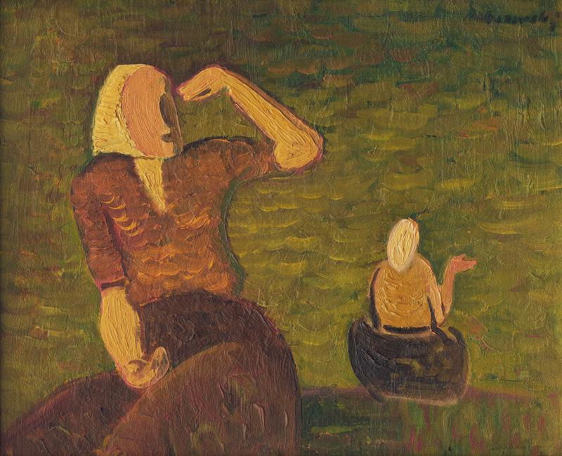 Miloš Alexander Bazovský – Ženy, 1942, Galéria Miloša Alexandra Bazovského, Trenčín