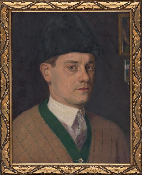 Miloš Alexander Bazovský - Autoportrét