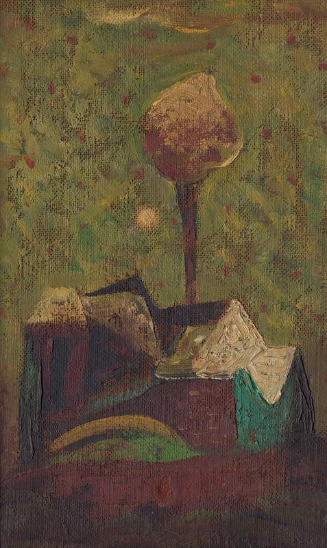 Miloš Alexander Bazovský – Samota so stromom