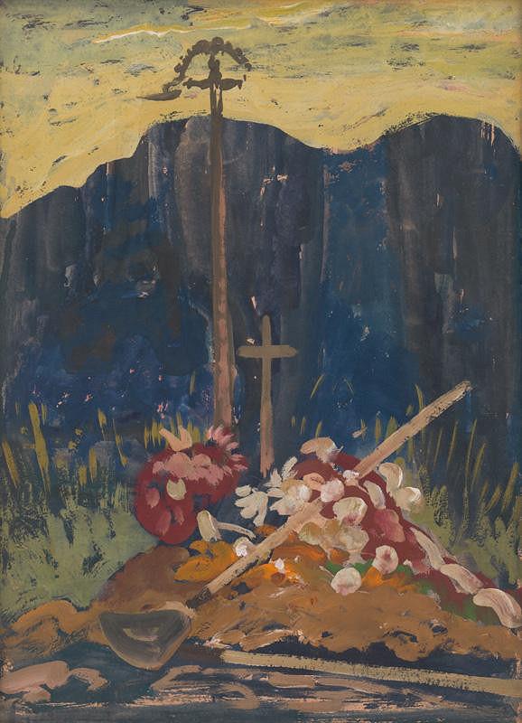 Miloš Alexander Bazovský – Cintorín