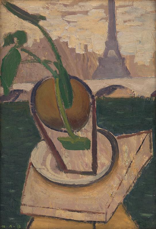 Miloš Alexander Bazovský – Spomienka na Paríž