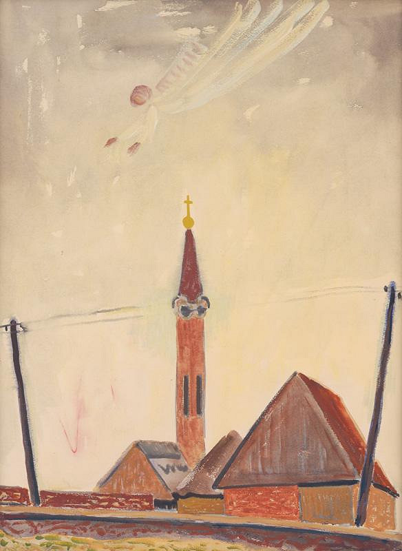 Miloš Alexander Bazovský – Kostolík