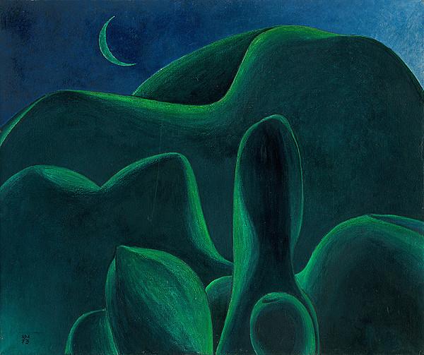 Rudolf Moško - Krajina so zeleným mesiacom
