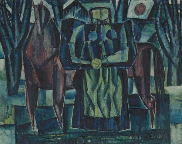 Rudolf Moško - Žena s koňom