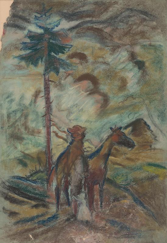 Arnold Peter Weisz-Kubínčan – Oravec - štúdia