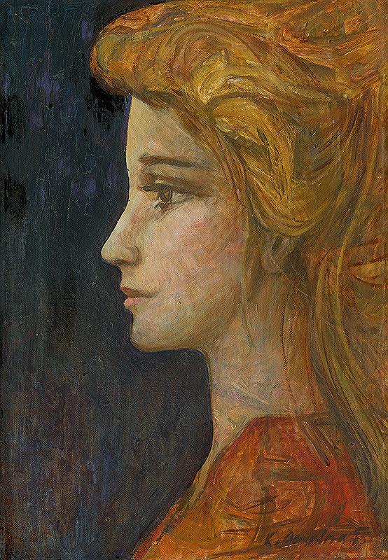 Kvetoslava Gandlová – Mladá žena