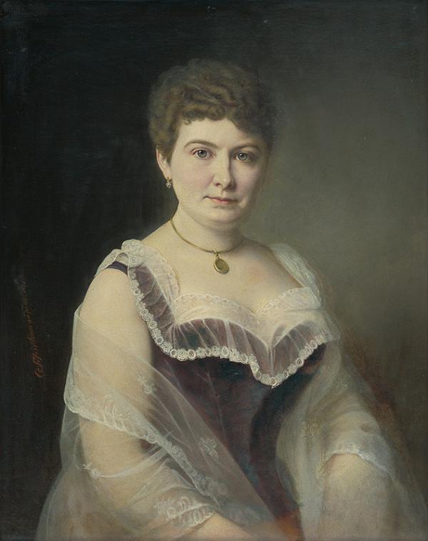 Georg Fleischmann – Portrét pani Zapletalovej