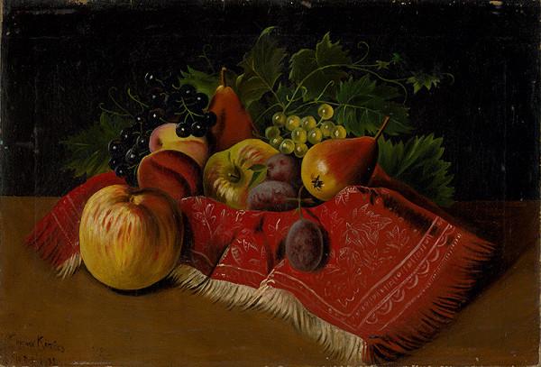 František Kozics – Zatišie s ovocím