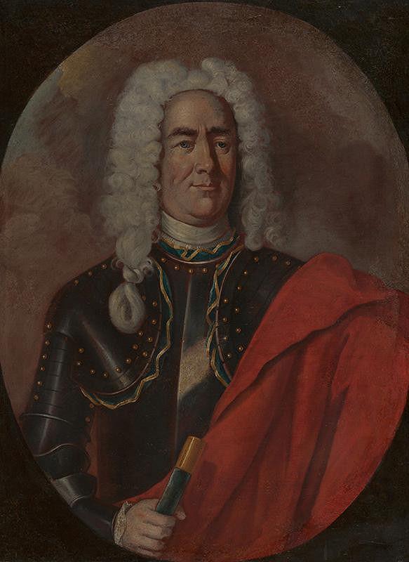 Carl Emrich - Portrét šľachtica