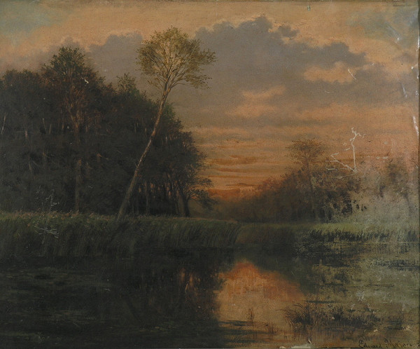 Eduard Majsch – Západ slnka