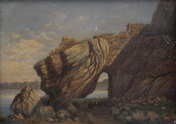 Gejza Zierer - Zrúcaniny hradu Devín