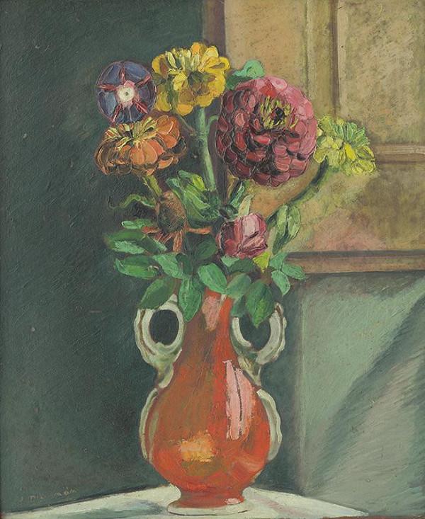 Jozef Arpád Murmann - Zátišie s kvetmi