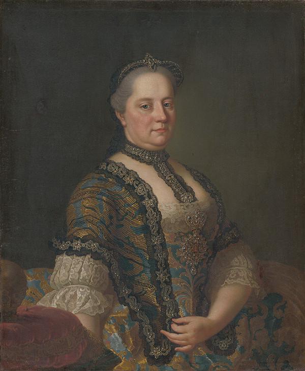 Stredoeurópsky maliar po polovici 18. storočia - Portrét Márie Terézie