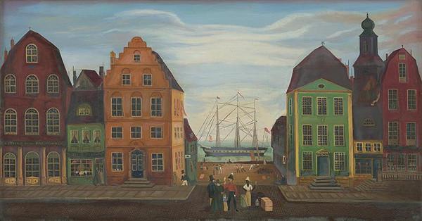 Stredoeurópsky maliar z 2. polovice 19. storočia – Prístav