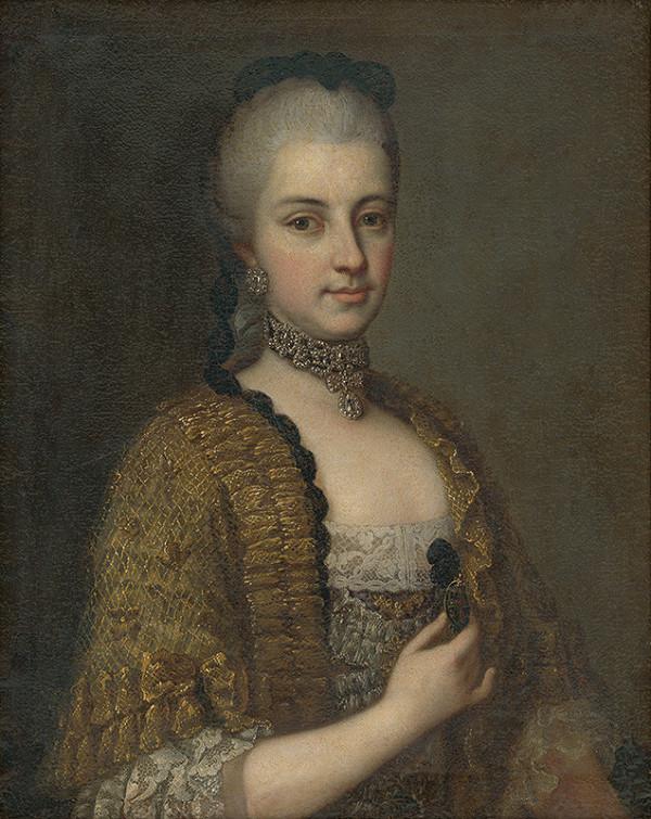 Daniel Schmidely – Portrét Márie Kristíny Habsbursko-Lotrinskej