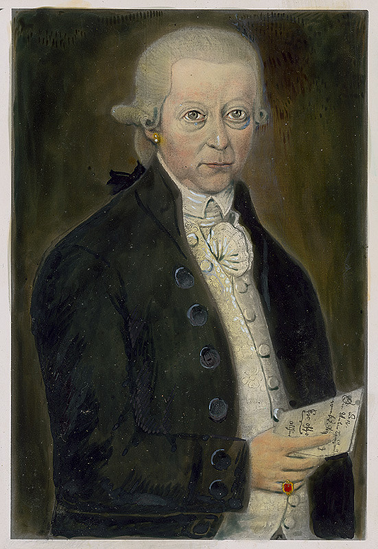 Stredoeurópsky maliar zo začiatku 19. storočia – Portrét Prudera Greila