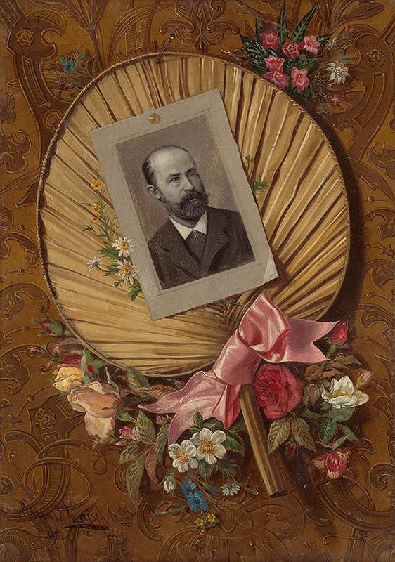 Eduard Majsch – Portrét Antona Strehlena