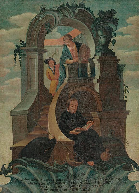 Stredoeurópsky maliar zo začiatku 18. storočia – Svätý Alexius rímsky
