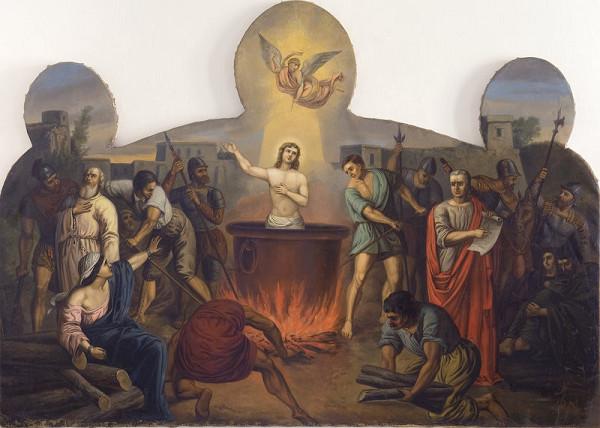 Stredoeurópsky maliar zo začiatku 19. storočia – Martýrium svätého Víta