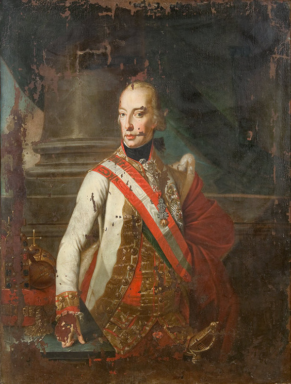 Johann Baptiste Lampi - Portrét cisára Františka I.
