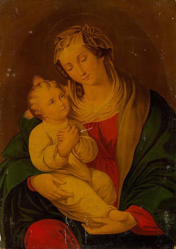 Neznámy autor – Madona s dieťaťom