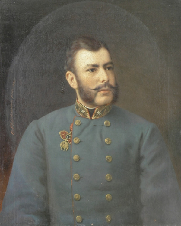 Georg Fleischmann - Portrét arcivojvodu Friedricha Rakúsko-Tešínskeho