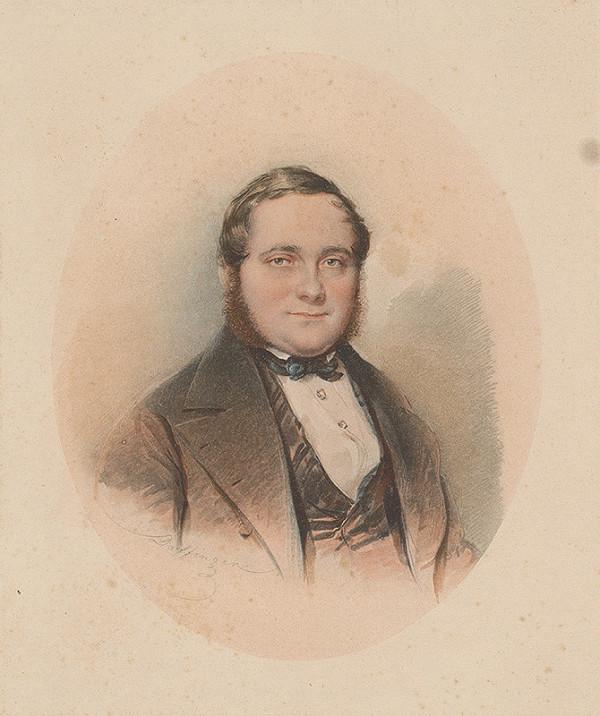 Moritz Michael Daffinger – Portrét Adalberta Stiftera