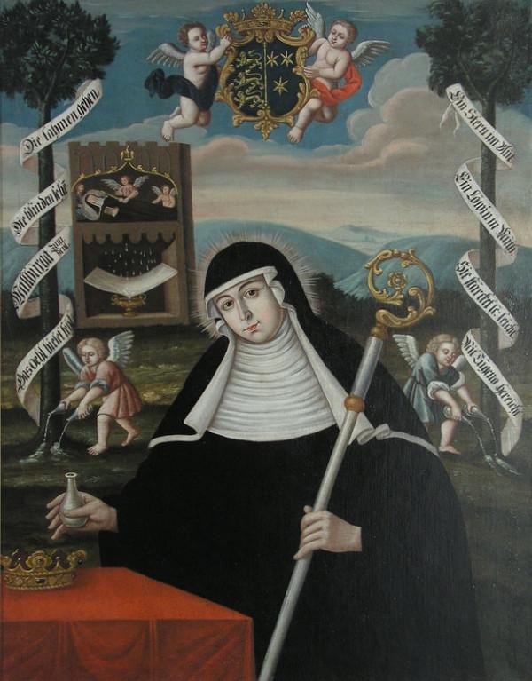 Stredoeurópsky maliar zo začiatku 18. storočia – Svätá Walburga