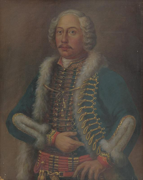 Maďarský maliar zo začiatku 20. storočia - Portrét grófa Františka Gyulaiho