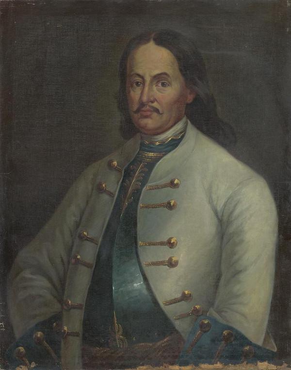 Maďarský maliar zo začiatku 20. storočia - Portrét grófa Františka II. Gyulaiho