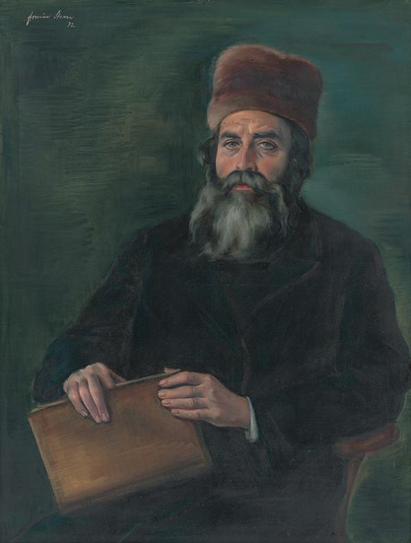 Armín Stern - Portrét hl. rabína Akiba Schreibera
