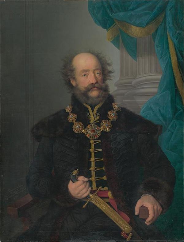 Friedrich Johann Gottlieb Lieder – Portrét grófa Karola Zichyho