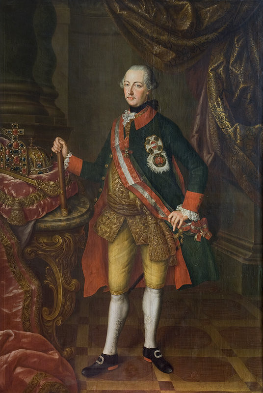Daniel Schmidely - Portrét Jozefa II.