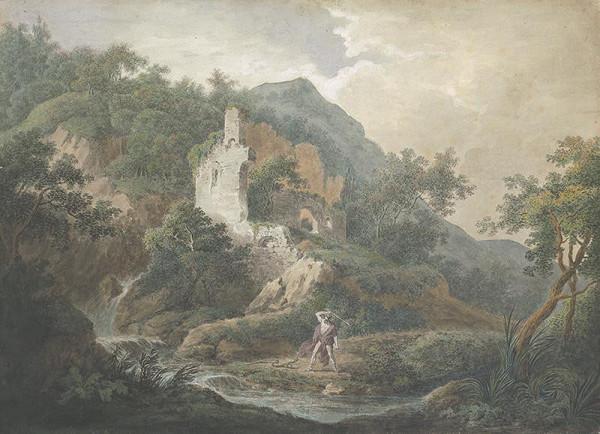 Carl Philipp Schallhas – Krajina s hadobijcom