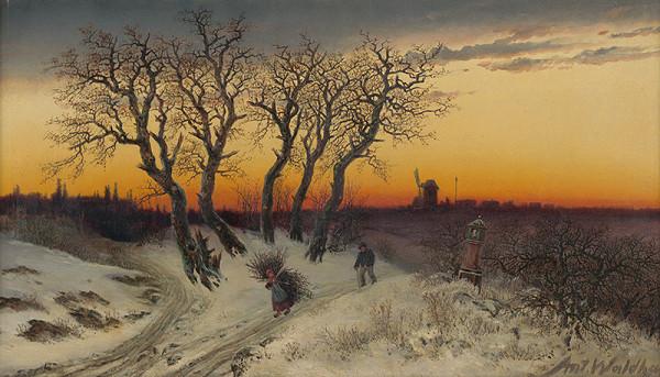 Antonín Waldhauser – Zimná krajina