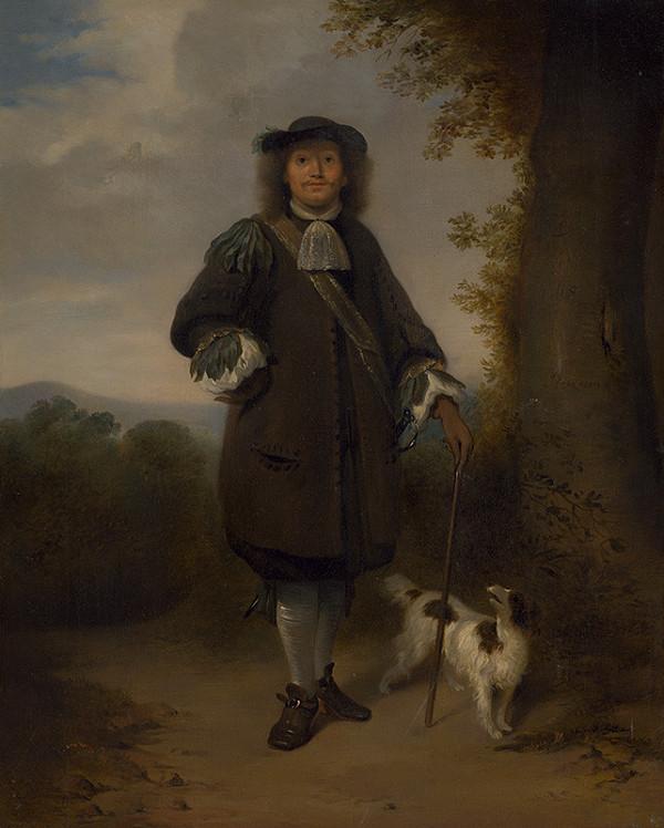 Jan van Rossum, Stredoeurópsky maliar z 19. storočia – Na prechádzke